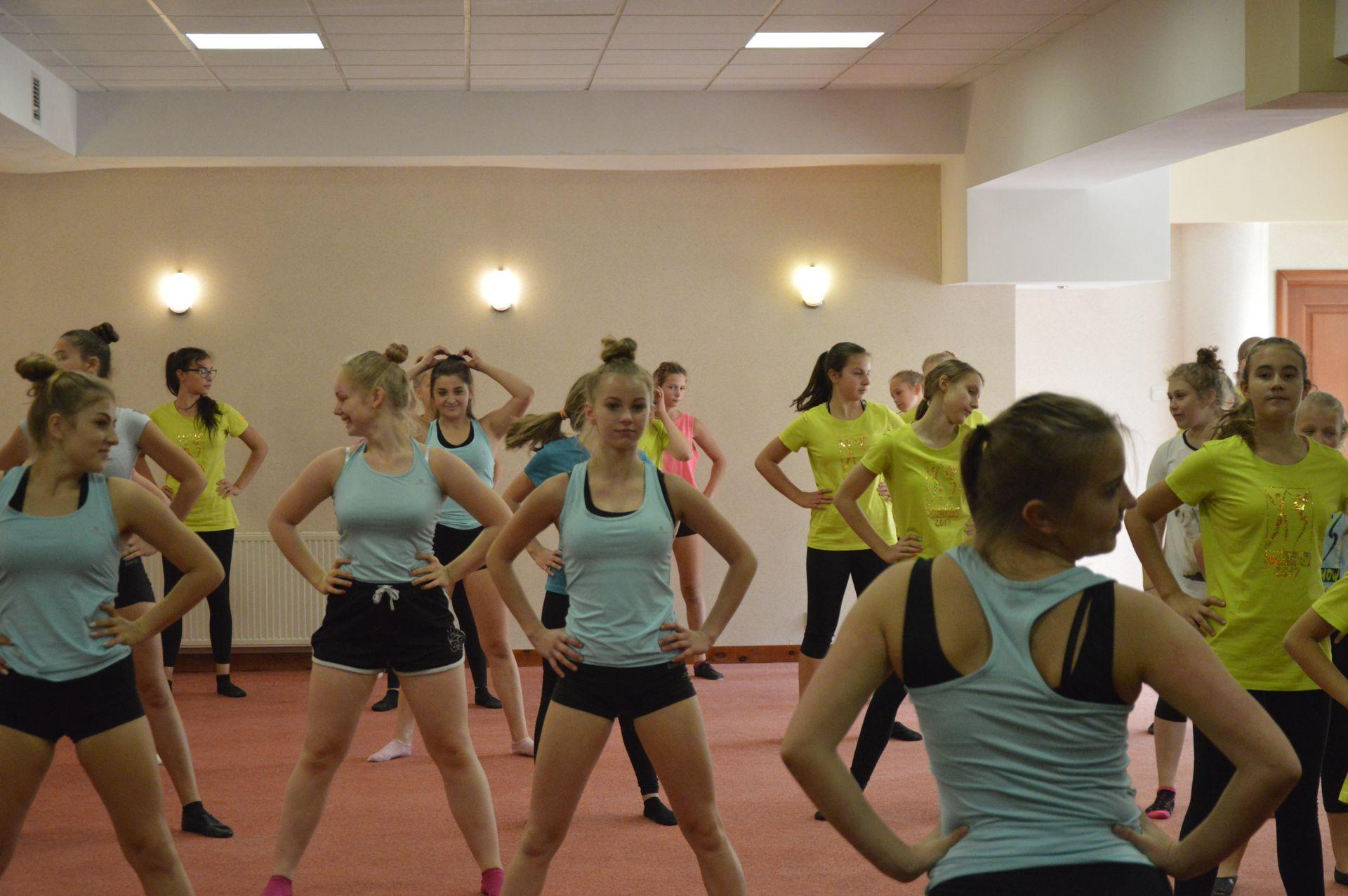 Cheer Dance Camp - Dąbki 2017