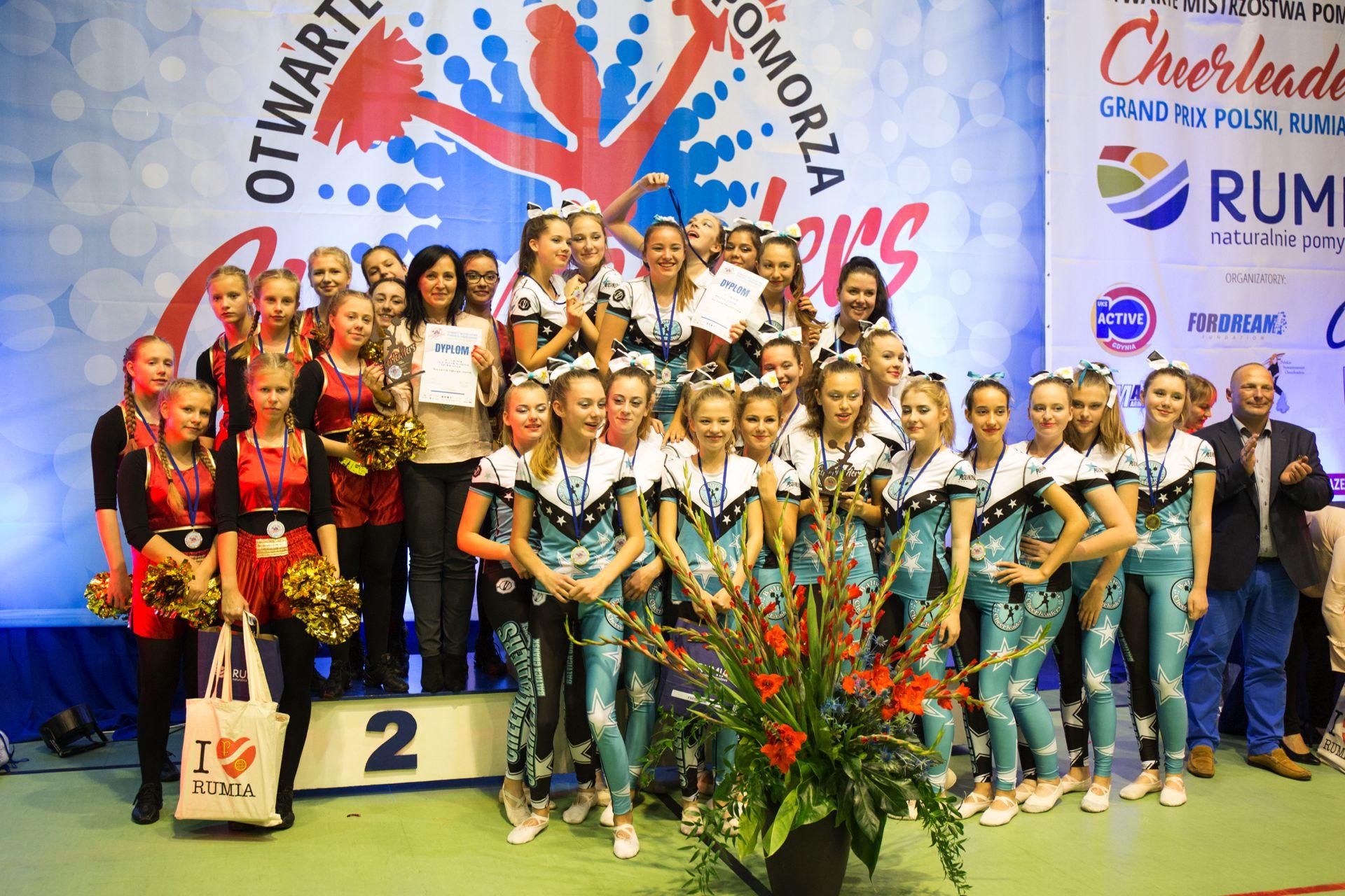 I Otwarte Mistrzostwa Pomorza Cheerleaders - Rumia 2017