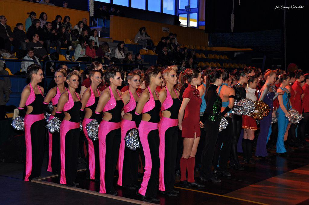 XIV Mistrzostwa Polski Cheerleaders - Chorzów 2011