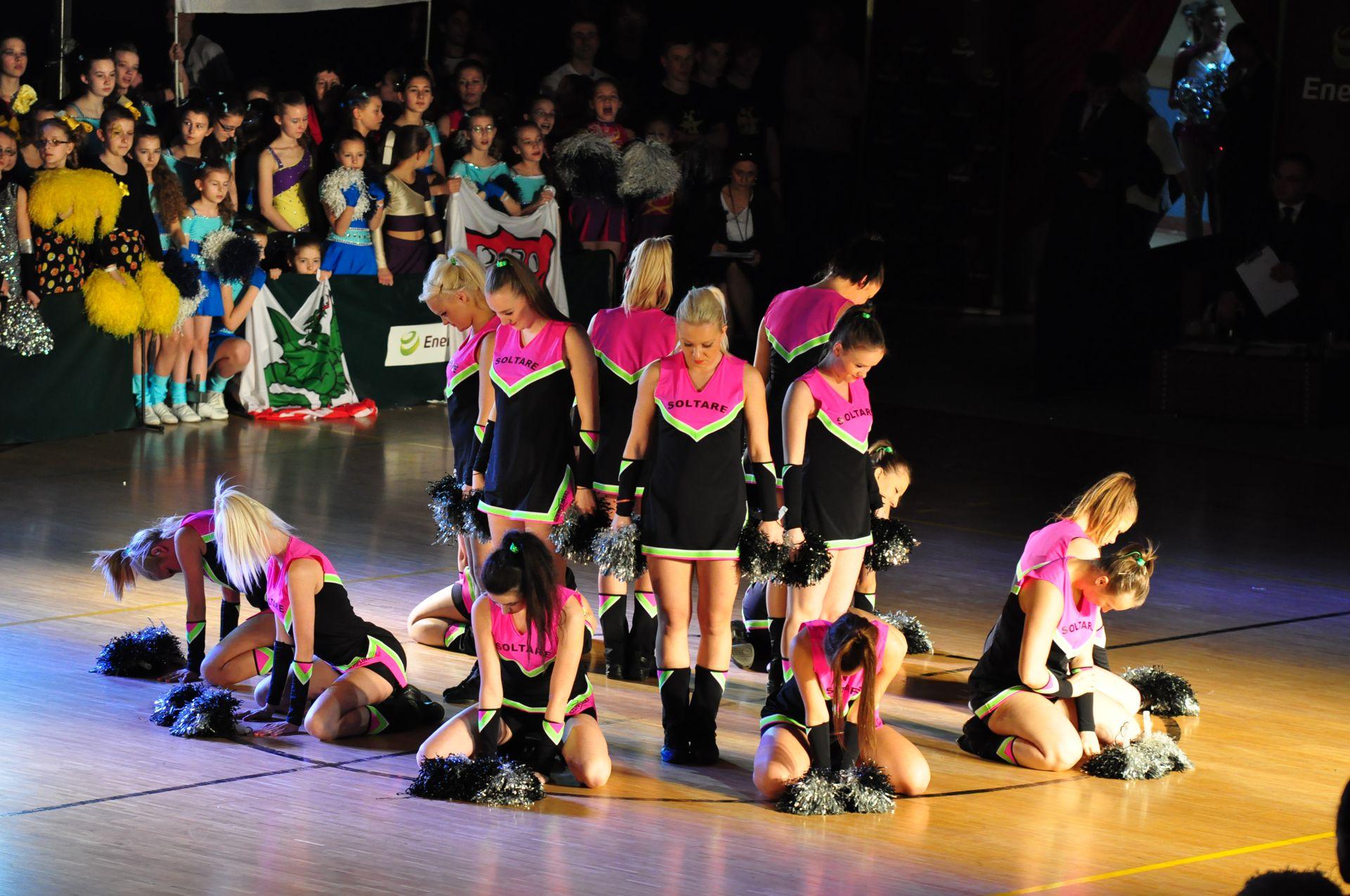 XV Mistrzostwa Polski Cheerleaders - Jezierzyce 2012