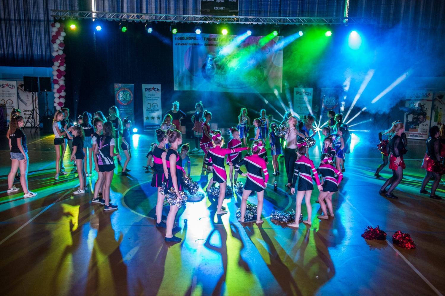 I Ogólnopolski Turniej Cheerleaders Grand Prix Polski Cheerleaders o Puchar Burmistrza Grodziska Mazowieckiego 2.06.2018