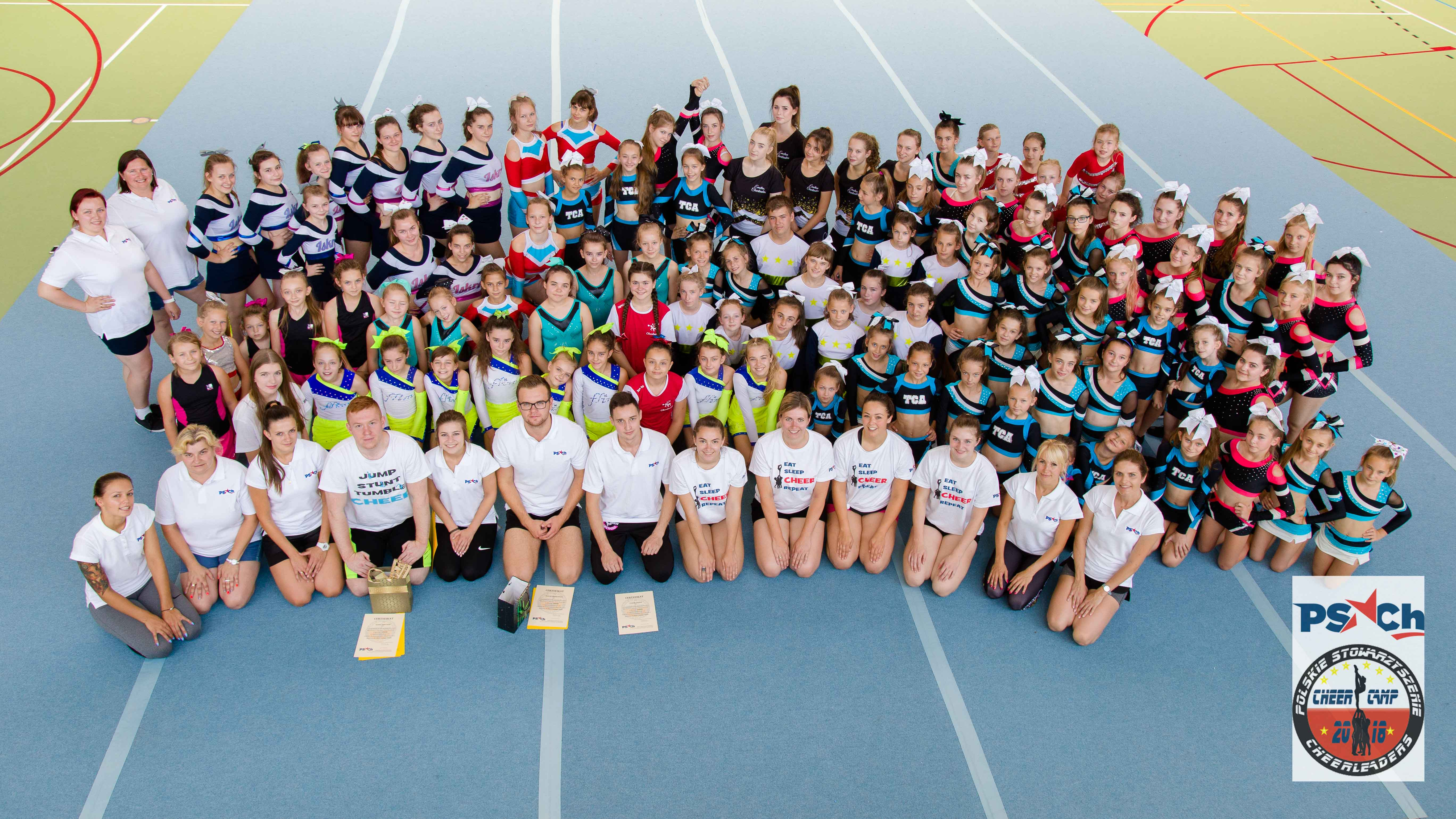 II Cheer Camp PSCh - Łochów 2018