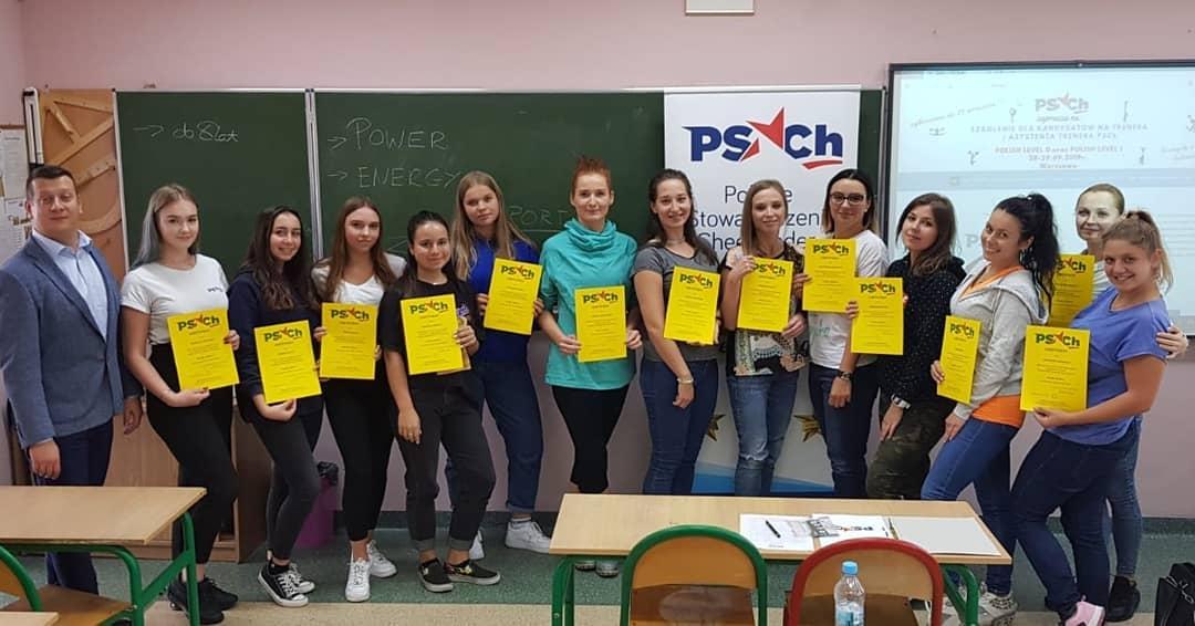 Szkolenie trenerskie PL0 i PL1 - Warszawa 2019