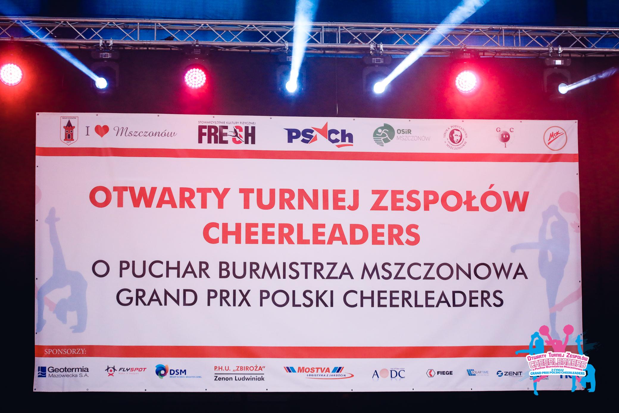 I Otwarty Turniej Tańca Cheerleaders o Puchar Burmistrza Mszczonowa