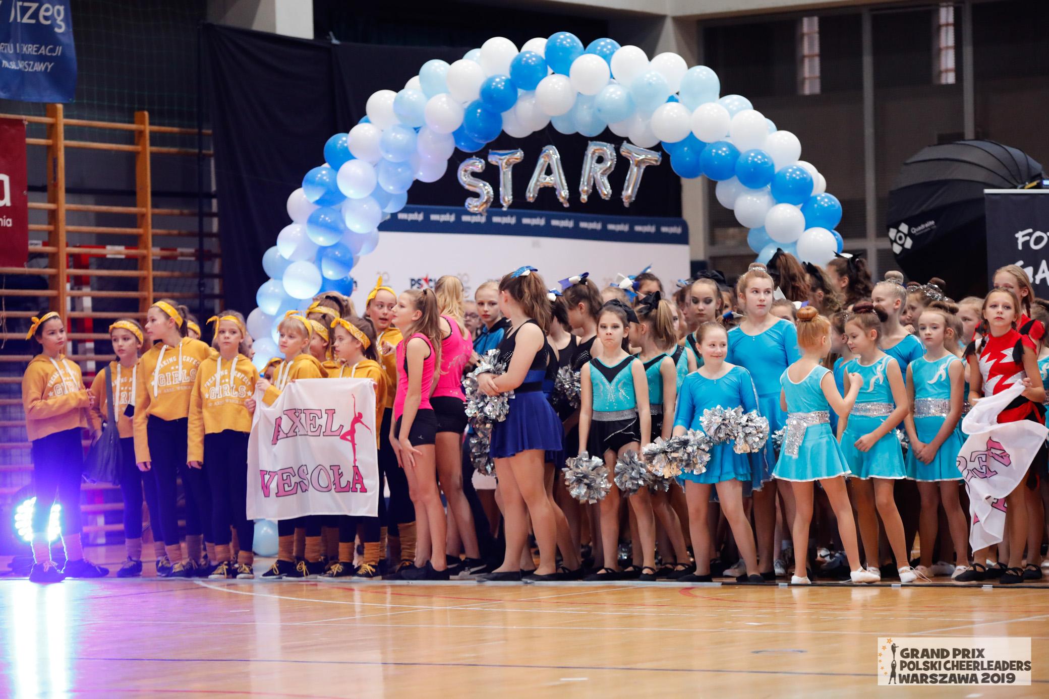 Ogólnopolski Turniej Zespołów Cheerleaders Warszawa 2019