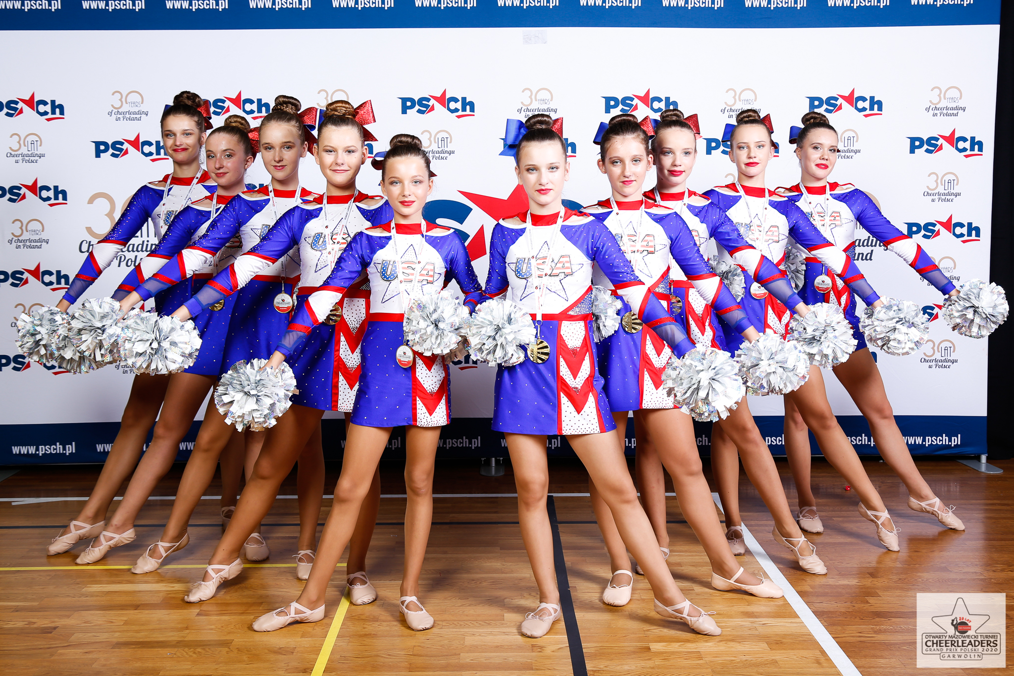 Grand Prix Polski Cheerleaders 2020 - Garwolin